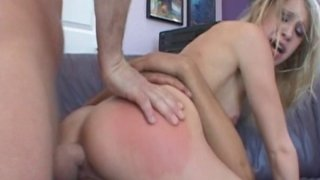 Group sex with skinny blonde