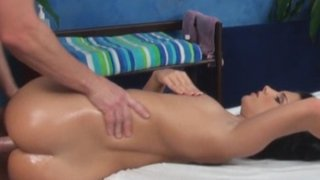 Bettina seduced and fucked by her massage therapist on hidden camera