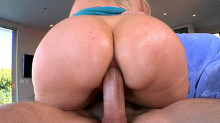 Anal MILF Alana Evans getting fucked ass to mouth Thumbnail