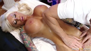 Johnny Sins masses fragile pussy flesh of Lolly Ink Thumbnail