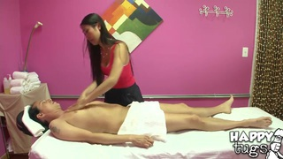 Scott visits sexy Asian massage sorcerer Thumbnail