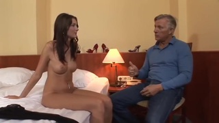 Kattie Gold -Lovely Anal From Older Guy