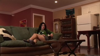 Angelica Raven - Naughty Nanny is So Anal! Thumbnail
