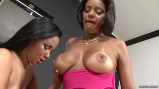 Ana Luz and Celiny Salles - Cum the Pounds Away