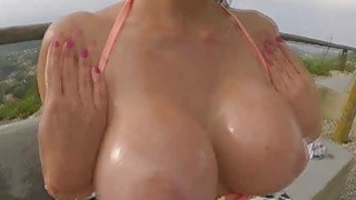 Aletta sucked a cock deep in her throat Thumbnail