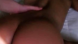 Black Ex Girlfriend Fucked And Taking Creampie Point Of View