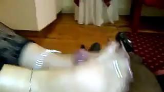 Mature Latin Woman Gives A Foot Job Thumbnail