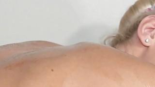 Beautiful blonde on lesbian nuru massage Thumbnail