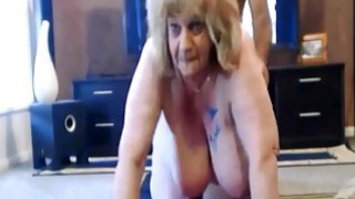 Mom getting fucked on the living room floor