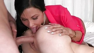 Stepmom Jewels Jade threesome session