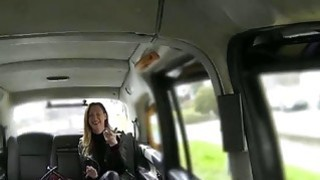 Tight wife gets fucked and facialed for a free taxi fare