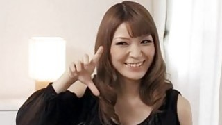 Yuria teases during her first Japanese porn casting? Thumbnail
