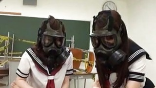 CFNM Gas Mask Japanese Schoolgirls Subtitles