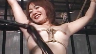 Asian sluit roughed up in a bdsm session real good Thumbnail
