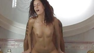 Juvenile virgin shows her pink cunt for the cam Thumbnail