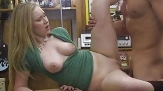 Slut pawns her twat for a pearl necklace Thumbnail