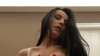 Nasty amateur girlfriend tries out anal sex on camera Thumbnail