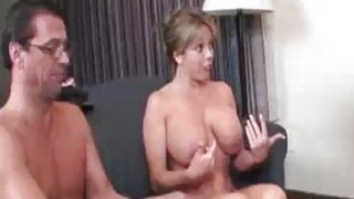 Blonde Babes Boob Exposure Makes His Cock Go Big Thumbnail