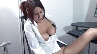 Lavender Rayne masturbates in her short skirt