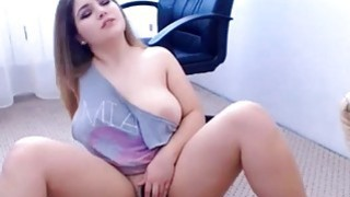 Good Looking Chubby Teen Masturbating Thumbnail