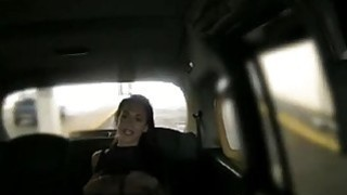 Busty tattooed babe deepthroats and boned by the driver Thumbnail