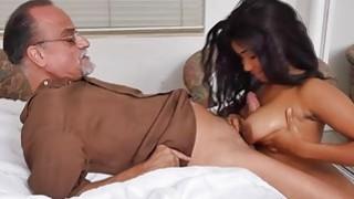 Old man fucks with busty nurse Jenna Foxx