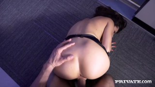 Carolina Abril in her favorite position