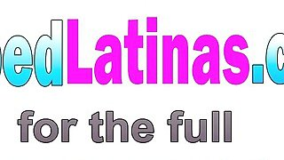 Petite Latina Cyrus Blow Drops Clothes And Mounts Big Hard Dick Thumbnail