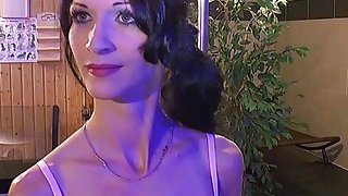 European babe gets showered in warm piss and bangs Thumbnail
