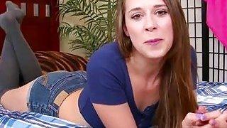 Hot Pornstar Handjob Compilation Thumbnail