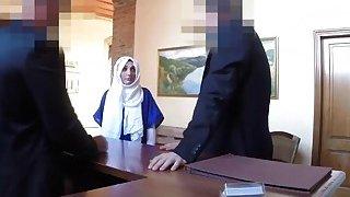 Arab busty slut riding huge cock in hotel room Thumbnail