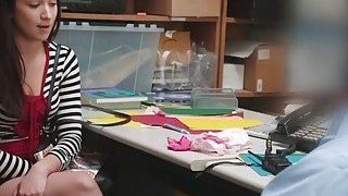 Teen Thief Naiomi Mae Takes Long Cock In Office Thumbnail