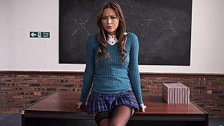 Your perfect schoolgirl fantasy