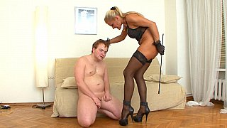 Aie mistress Girl savagely